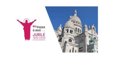 Fêter le jubilé du Sacré-Coeur à Paris du 1er au 5 juin 2020